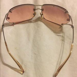Versace Accessories Retro 90s Jlo Clear Frameless Sunglasses Poshmark
